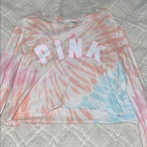 Cropped Tie Dye Victoria's Secret PINK